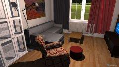 Raumgestaltung pokoj z wymiarami in der Kategorie Hobbyraum