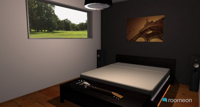 Raumgestaltung Quarto in der Kategorie Hobbyraum