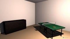 Raumgestaltung Raumentwurf 4.1 in der Kategorie Hobbyraum