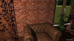 Raumgestaltung Rustic Modern Showroom in der Kategorie Hobbyraum
