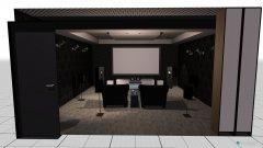 Raumgestaltung Sala kinowa Przemyśl in der Kategorie Hobbyraum