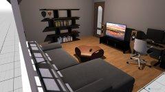 Raumgestaltung salon bez łozka in der Kategorie Hobbyraum