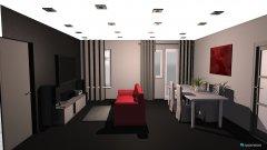 Raumgestaltung salon - comedor in der Kategorie Hobbyraum