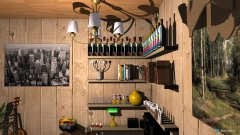 Raumgestaltung Saloon in der Kategorie Hobbyraum