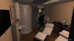 Raumgestaltung Sauna in der Kategorie Hobbyraum