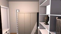 Raumgestaltung Schrankzimmer in der Kategorie Hobbyraum