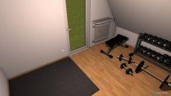 Raumgestaltung Sportraum (2.OG) in der Kategorie Hobbyraum