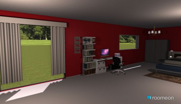 Raumgestaltung T-House in der Kategorie Hobbyraum