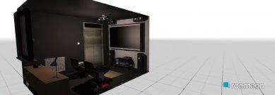 Raumgestaltung tin videosoba in der Kategorie Hobbyraum