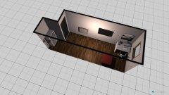 Raumgestaltung Tobias Männerzimmer in der Kategorie Hobbyraum