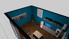 Raumgestaltung UG Zimmer Flo in der Kategorie Hobbyraum