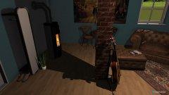 Raumgestaltung Vintage Raum in der Kategorie Hobbyraum