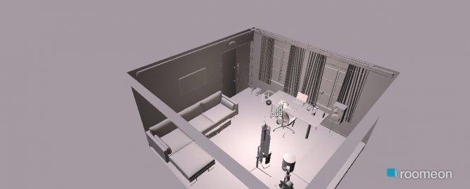 Raumgestaltung vitinho(estudio) in der Kategorie Hobbyraum