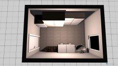 Raumgestaltung Waschraum in der Kategorie Hobbyraum