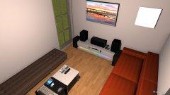 Raumgestaltung Wohn Room in der Kategorie Hobbyraum