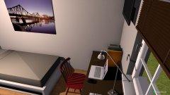 Raumgestaltung Wohnung Lena in der Kategorie Hobbyraum