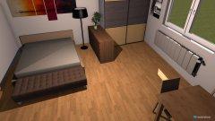 Raumgestaltung zimmer lozko opcja 2 in der Kategorie Hobbyraum