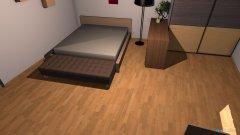 Raumgestaltung zimmer lozko opcja 3 in der Kategorie Hobbyraum