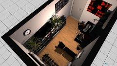 Raumgestaltung Zockerzimmer Pauli in der Kategorie Hobbyraum