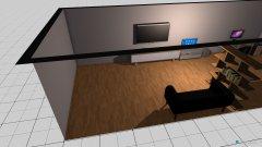 Raumgestaltung Zockerzimmer in der Kategorie Hobbyraum