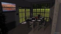 Raumgestaltung Одноэтажный дом in der Kategorie Hobbyraum