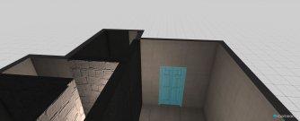 Raumgestaltung 28平米一室一厅一厨一卫01-布局2 in der Kategorie Keller