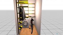 Raumgestaltung Abstellraum in der Kategorie Keller