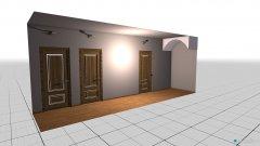 Raumgestaltung Coridor in der Kategorie Keller