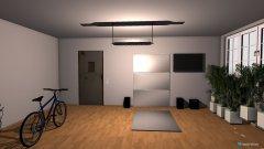 Raumgestaltung Fitness in der Kategorie Keller