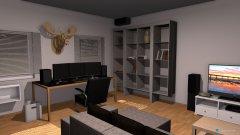 Raumgestaltung Gaming room in der Kategorie Keller