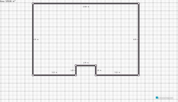 Raumgestaltung Grundrissvorlage Erker in der Kategorie Keller