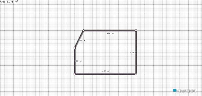 Raumgestaltung Grundrissvorlage L-Form in der Kategorie Keller