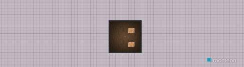 Raumgestaltung Grundrissvorlage Quadrat in der Kategorie Keller