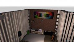 Raumgestaltung Heimkino raum Keller 1 in der Kategorie Keller