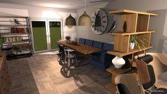 Raumgestaltung Huiskamer  in der Kategorie Keller