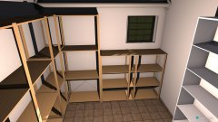 Raumgestaltung Kellerraum klein in der Kategorie Keller