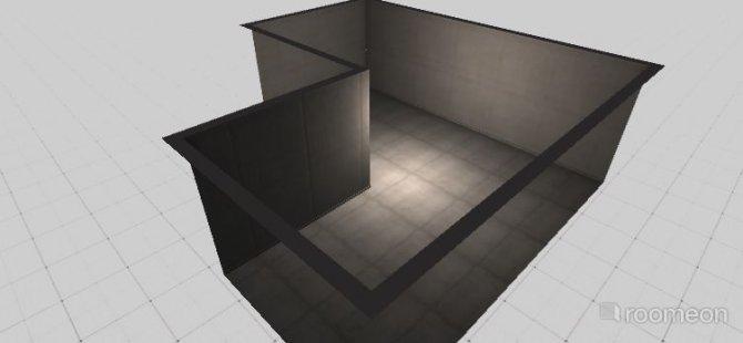 Raumgestaltung living room in der Kategorie Keller