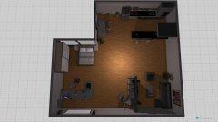 Raumgestaltung obyvačka s kuchyňou in der Kategorie Keller