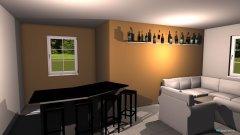 Raumgestaltung Partyraum in der Kategorie Keller