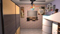 Raumgestaltung quarto do meninas in der Kategorie Keller