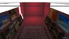 Raumgestaltung red room in der Kategorie Keller