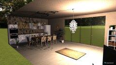 Raumgestaltung salon i kuhinja in der Kategorie Keller