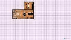 Raumgestaltung v10 lange Küche in der Kategorie Keller