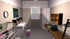 Raumgestaltung Waschküche in der Kategorie Keller