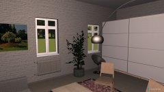 Raumgestaltung Wohnung Hauptraum Möglichkeit 1 in der Kategorie Keller