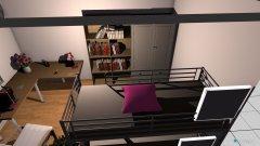 Raumgestaltung 2 pflanzen und ikea sessel und ecktisch in der Kategorie Kinderzimmer