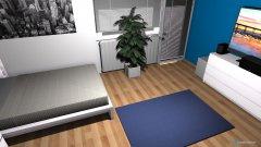 Raumgestaltung Adrians Zimmer in der Kategorie Kinderzimmer