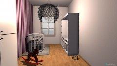Raumgestaltung amys zimmer in der Kategorie Kinderzimmer