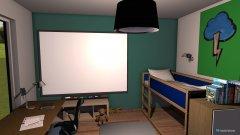 Raumgestaltung Anton in der Kategorie Kinderzimmer