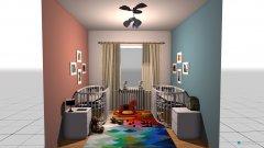 Raumgestaltung Asya&Mahir in der Kategorie Kinderzimmer